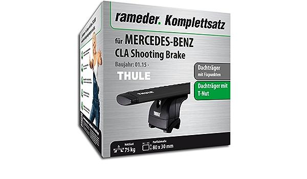 Rameder Komplettsatz Dachträger Wingbar Evo Für Mercedes Benz Cla Shooting Brake 117744 13518 1 Auto