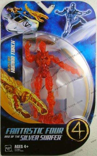 Les 4 Fantastiques Marvel Figurine La Torche Humaine (blast off)