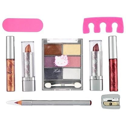 51 ghh1fN0L. SS416  - Hello Kitty HK.0013.08 - Neceser de maquillaje, 15 piezas