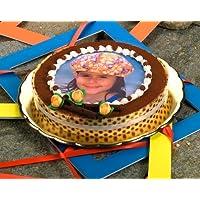 Aufleger für Fototorte zum Kindergeburtstag mit Ihrem Foto, runde Tortenauflage, essbarer Kuchenaufleger
