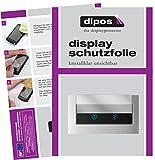 dipos I 2X Schutzfolie klar passend für Samsung RS7528THCSLEF Folie Displayschutzfolie