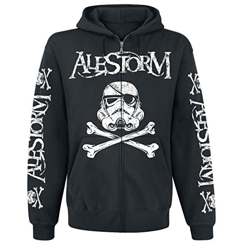 Alestorm Darth Vader 702383 zip-hood Black Medium