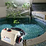 ParaCity Pool Heater 220V 3KW Electric Water Heating Thermostat SPA /Swimming Pool Heaters