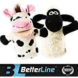 Better Line Animal Hand Puppets Set Of 2- Premium Quality