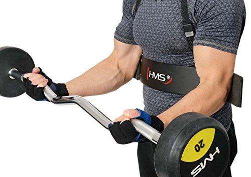 HMS biezep tríceps Blaster brazo Entrenamiento Ayuda de Entrenamiento para Fitness Soporte abx01