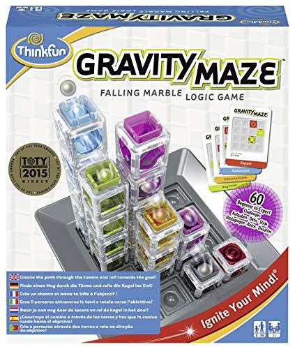Ravensburger ThinkFun 763399 ThinkFun Gravity Maze Spiel - Smart Game (Gravity Maze)