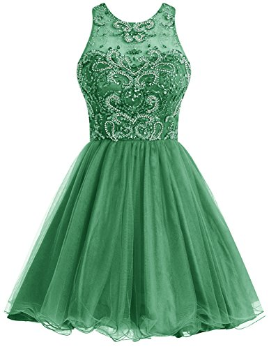 Amazon robe soiree verte