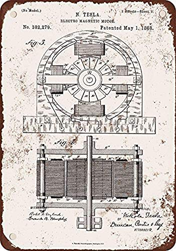Taco Thursday 1888 Nicola Tesla Electro Magnetic Motor