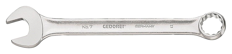 DIN3113A Größen 3mm bis 36mm Gedore Ring-Maulschlüssel No.7 15° abgewinkelt