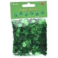 A Beistle Creation Fanci-Fetti Shamrocks (green) Party Accessory (1 count) (1 Oz/Pkg)