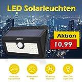 [45 LEDs] Lampada di movimento senza fili del rivelatore solare /Motion Detector 3 Modalità intelligente/Pannello solare efficiente / Impermeabile IP65 / Spot all'aperto per il giardino, scala esterna