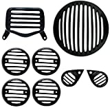 #10: AllExtreme Heavy Headlight Grill Set for Royal Enfield - Standard