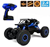 #8: Rock crawler 1:18 scale Remote Control Monster Off Road Truck 4*4 dirt drift high speed vehicle (blue)