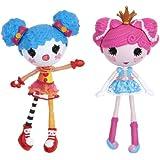 Lalaloopsy - Fábrica princesa/payaso, set de muñecas (Bandai 522577)