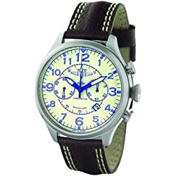 """Moscow Classic 3133.01831069 """"Aeronavigator"""" Gents Analogue Leather Strap Watch"""