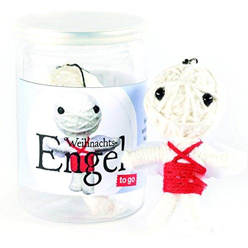 I Gifts Voodoo Puppe | Weihnachtsengel | Glücksbringer aus der Dose | Hergestellt mit Liebe und Leidenschaft | Geschenk für jung und alt