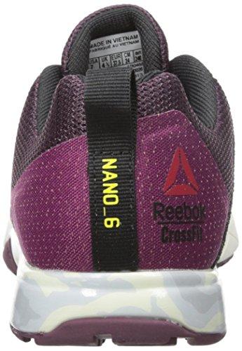 Reebok-Womens-Crossfit-Nano-6-0-Cross-Trainer-Shoe-Mystic-MaroonRebel-BerryBlackHero-YellowChalkPewter-8-M-US