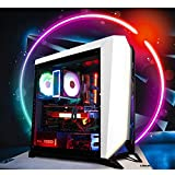 GameMachines Omega - Gaming PC - Intel Core i7 8600K - NVIDIA GeForce GTX 1070 - Gigabyte Z370 Gaming Mainboard - RGB éclairage - 250 Go SSD - 16 Go DDR4 - WiFi - Windows 10 Pro