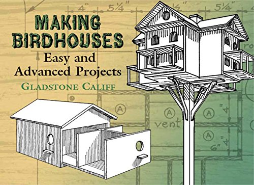Making Birdhouses: Easy and Advanced Projects (Dover Woodworking) (English Edition) Bluebird Feeder