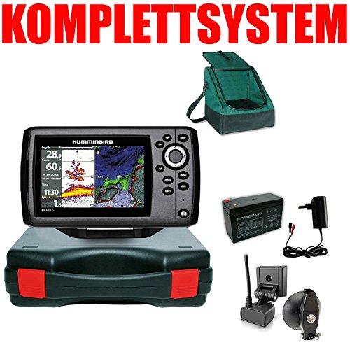 Humminbird Echolot GPS Portabel Basic Plus Komplettsystem Helix 5 Chirp GPS G2 -