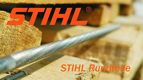 """STIHL Rundfeile 6 Stück für Sägeketten 4,0mm 1/4"""" und 3/8""""P 1,3mm (5605 771 4006),"""