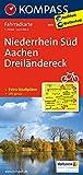 Niederrhein Süd - Aachen - Dreiländereck: Fahrradkarte. GPS-genau. 1:70000 (KOMPASS-Fahrradkarten Deutschland, Band 3055)