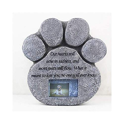 DCCER Exquisitos monumentos y lápidas, colección de lápidas funerarias de Gatos/Perros, decoración de ataúdes para Mascotas, W