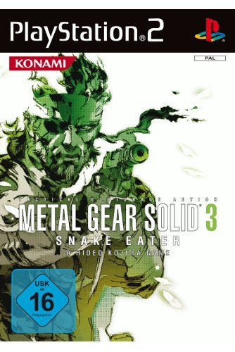 Metal Gear Solid 3 - Snake Eater - [PlayStation 2]