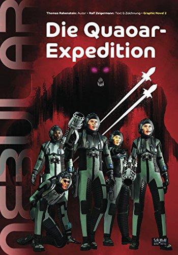Die Quaoar-Expedition: Comic Adaption der Science-Fiction Serie Nebular