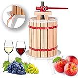 TecTake Prensador de Fruta Extractor Filtro Jugo Exprimidor Manual Prensa Naranja | Incl. paño de prensa - varias tamaños - (18 litros | no. 402020)
