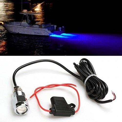 JYWB Unterwasser Boot Light Fishing mit Ablaufstopfen Stecker für (Tragbare Bogen Led)