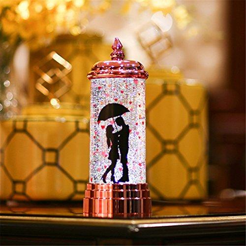LED Vela De Luz, outgeek Creative USB De Carga LáMpara De Vela Romántica Valentine Party Decor Light Para El Hogar