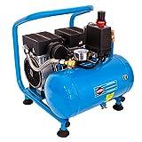 AIRPRESS Druckluft Kompressor L 6-95 Silent 8 Bar 6 Liter 0,6 PS 2 Zylinder Pro