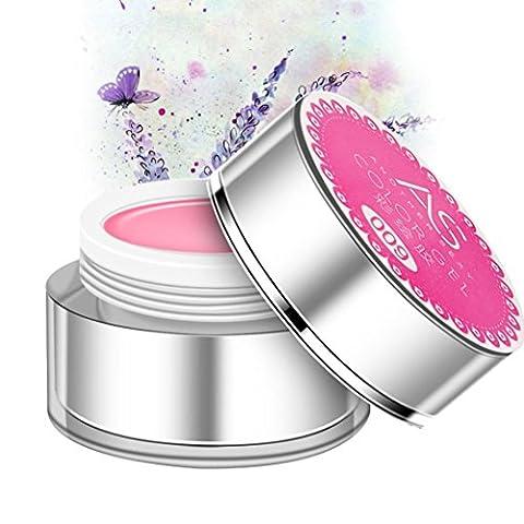 Nagelgels,Chshe 3D UV Skulptur Gel Farbe Nail Art Tip Kreative Maniküre Dekoration (Rosa)