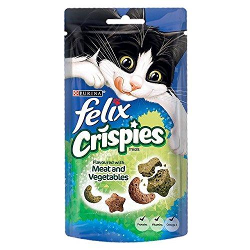 Felix Crispies Katze Behandelt Fleisch Und Gemüse (45G)