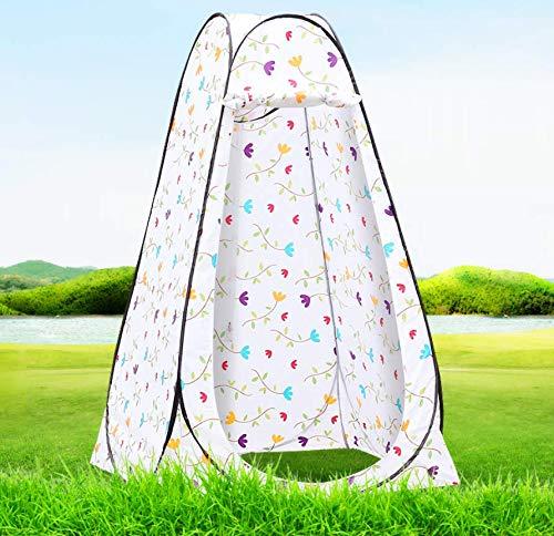 Cclay tenda da bagno per tende da campeggio pop-up per campeggio doccia spogliatoio accessori per camper (bianco),1