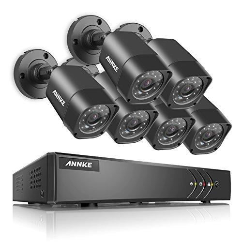 annke-8-canal-720P-CCTV-grabador-de-vigilancia-con-6-verdaderos-720P-HD-cmaras-de-vigilancia-InteriorExterior-IP66-impermeable-detector-de-movimiento-sin-disco-duro