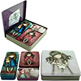 Set 4 Cajas Metalicas Gorjuss by Santoro