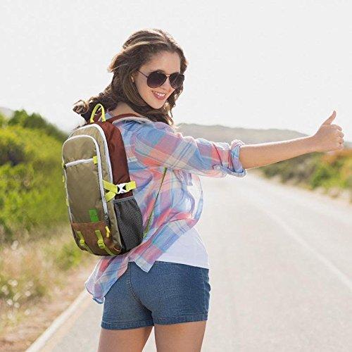 Viaggi e tempo libero sport outdoor arrampicata/trekking zaino moda uomini e donne studenti 40L zaino , khaki Khaki