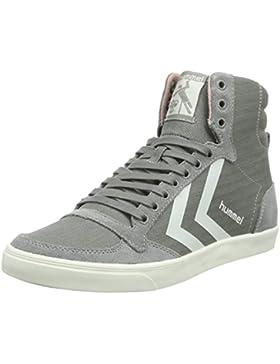 SLIMMER STADIL HERRINGBONE HIGH (hohe Sneakers), bequeme Damen Sneakers, Canvas Sneakers aus Wildleder/Jeansstoff...