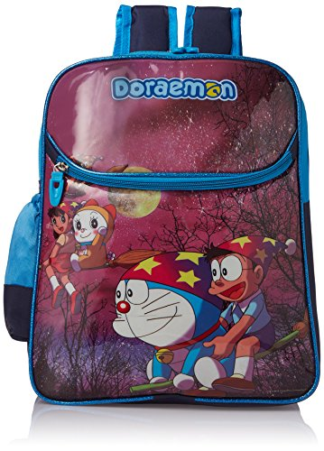Doraemon School Bag , Polyester, 16