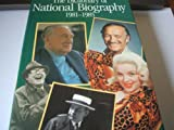 The Dictionary of National Biography, 1981-1985... With an Index covering the years 1901-1985