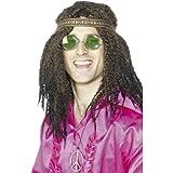 Set de Déguisement Hippie Chanteur Populaire Déguisement Années 70 Set de Hippie Flower Power Accessoires Homme Chanson Populaire Accessoires Pour Déguisement