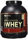 Optimum Nutrition 100% Whey Protéine Gold Standard - Fraise, 77 Portions - A base de Isolate / Concentré / Hydrolysé, 2,27 kg