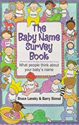 The Baby Name Survey Book by Bruce Lansky (1998-06-01)