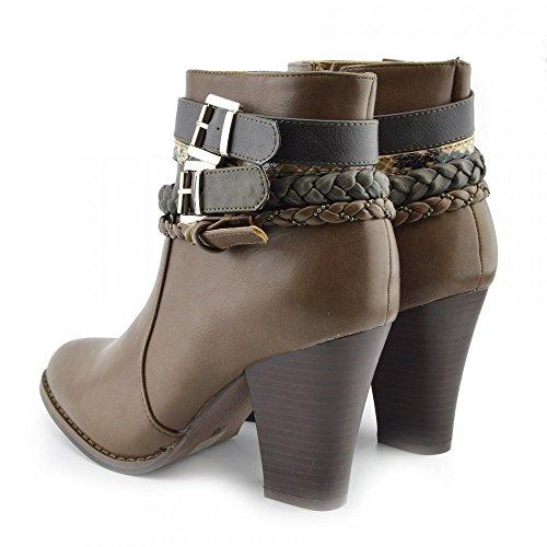 Kick Footwear Cowboy Boots, Stivali donna Tan