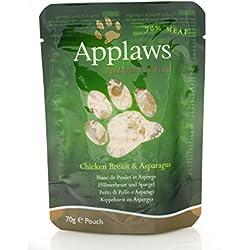 APPLAWS CAT Natürliche Nahrung für Katzen in der Tasche 70 gr Katzen Nassfutter