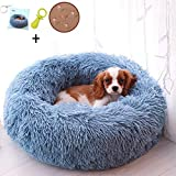 Ailotrd Dog Beds Extra Soft Washable Comfortable Pet Bed Sofa,Waterproof Round Plush Donut