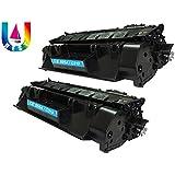 C319/505A (BEST4U) Toner Cartridge For Printer HP LaserJet P2030/ 2035/ 2035d/ 2050/ 2055d/ 2055n/ 2055x - AXIS (Pack Of 2 Black) Toner Cartridge.