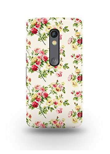 Moto X Play Cover,Moto X Play Case,Moto X Play Back Cover,Fashionable Floral Pattern Moto X Play Mobile Cover By The Shopmetro-12398